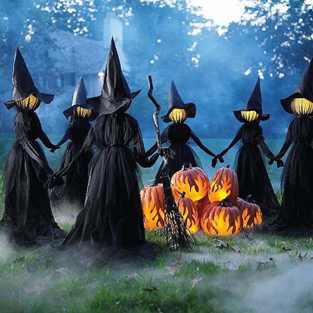 17 Halloween Lights You Need For Your Porch Halloween Outdoor Decorations Vintage Halloween Decorations Halloween Yard