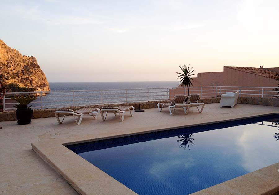 Sunset at the Pool - Andratx, Mallorca