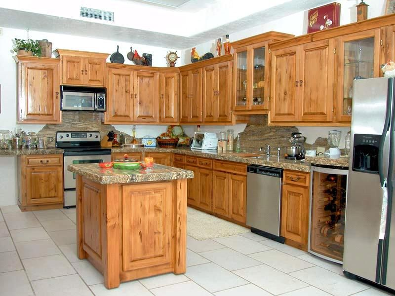 Best Wood Kitchen Cabinets Antique Solid Wood Kitchen Cabinet 400 x 300