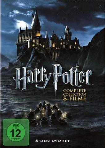 Harry Potter Complete Collection Harry Potter Dvd Filme Geschenke Finden