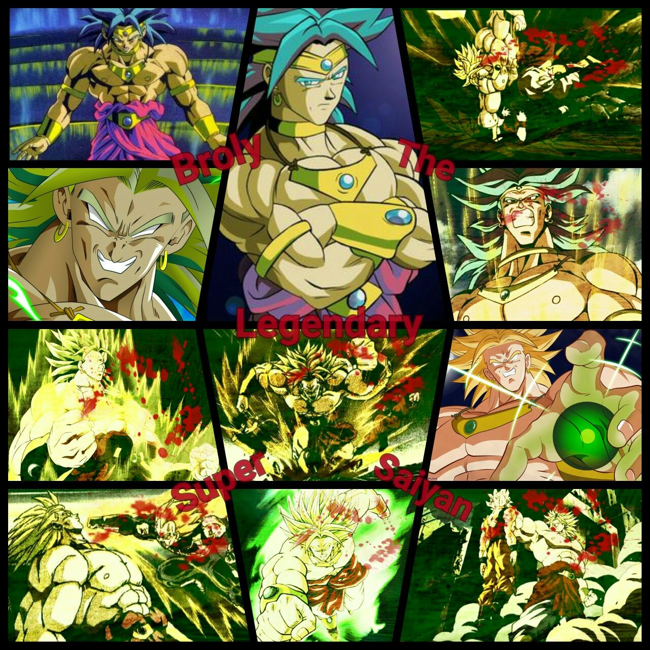 Is One Of The Most Badass And Powerful Villain In An Anime Broly From Dragon