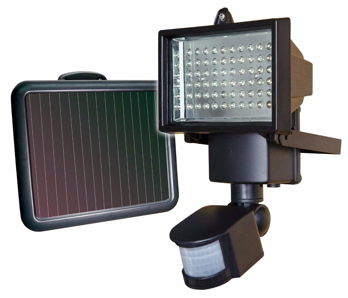 32 Lampara Sunforce De 60 Leds Solar C Sensor De Movimiento 1 250 00 En Mercadolibre Iluminacion Solar Al Aire Libre Proyector Led Luces Solares