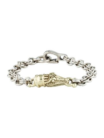 Barry Kieselstein-Cord Alligator Link Bracelet