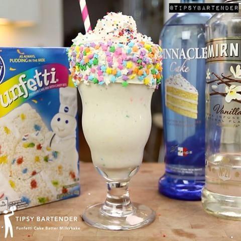 Funfetti Cake Batter Martini cake vodka Tipsy Bartender