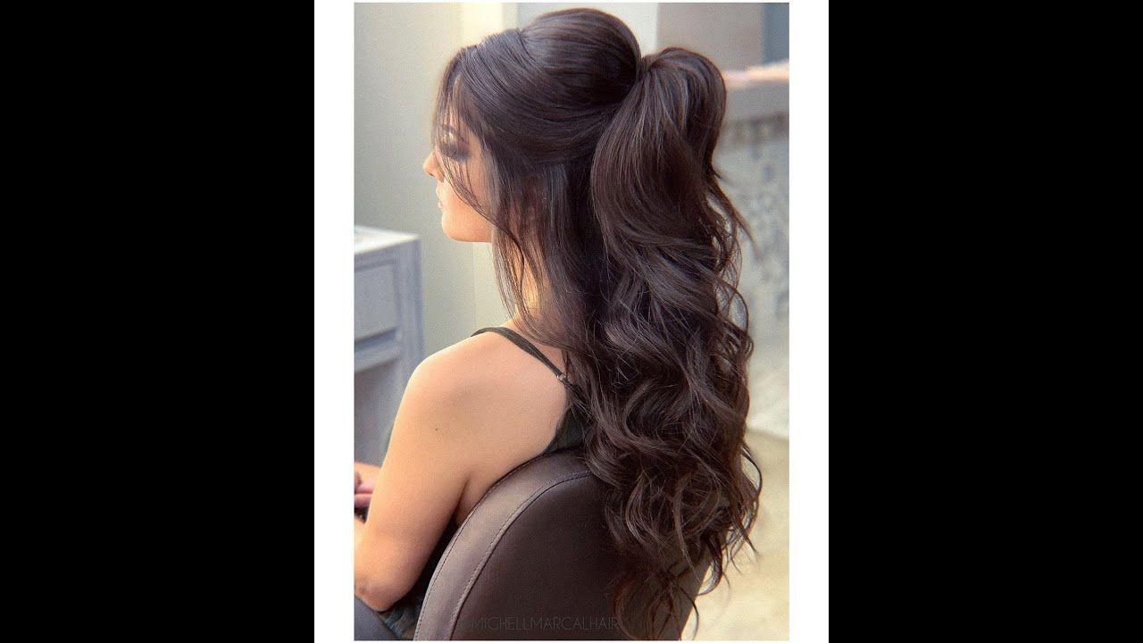 3 تسريحات شعر سهلة و سريعة للمناسبات Event Hairstyle Easy Hairstyles For Long Hair Wedding Hair Inspiration Hair Videos