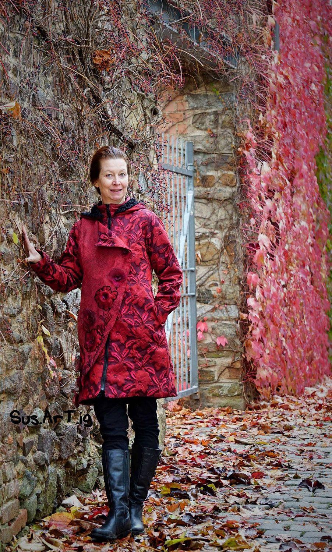 Carla, Allwetter Jacke für Damen, Schnittmuster | Sewing