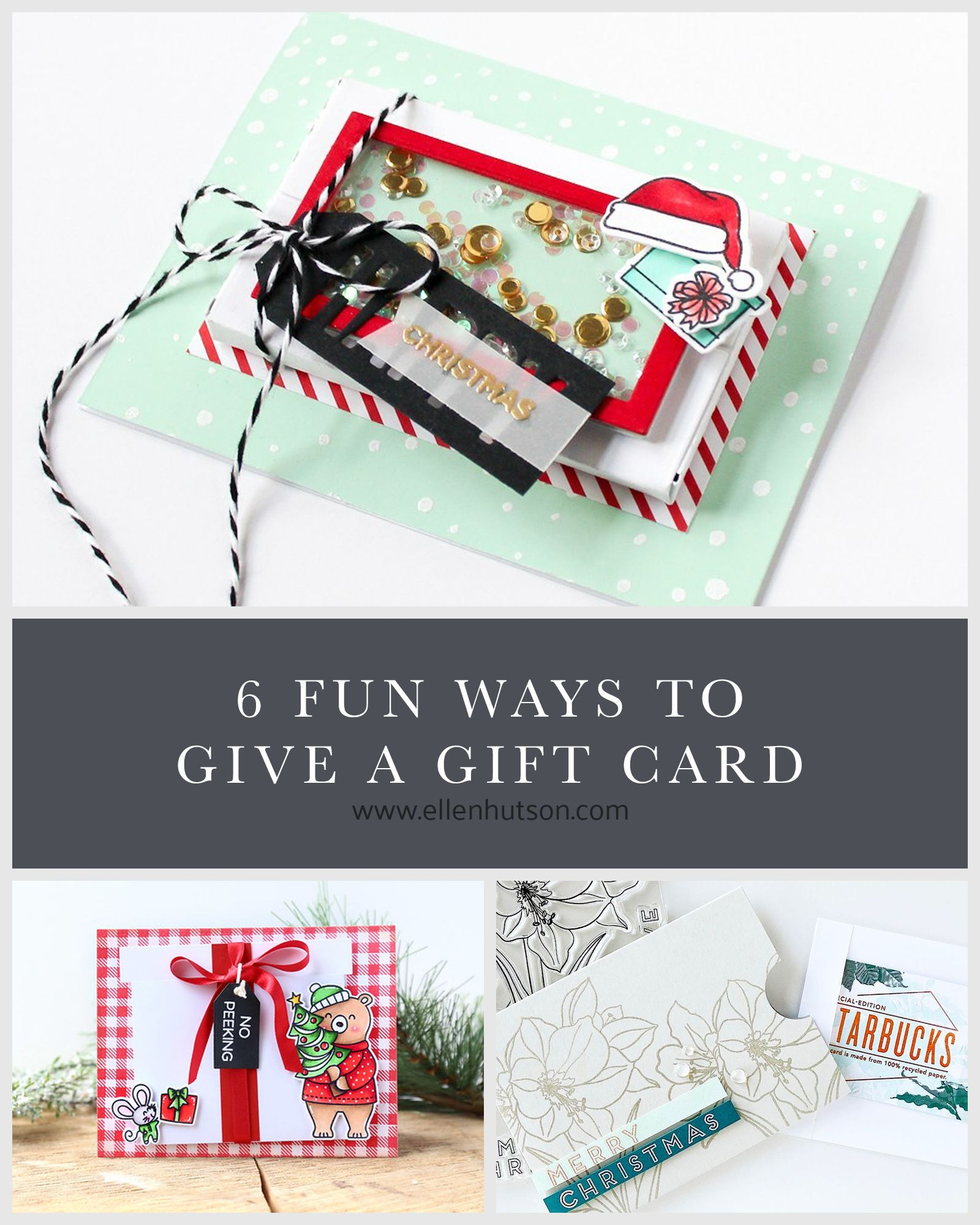 6 fun ways to give a gift card  ellen hutson  unique