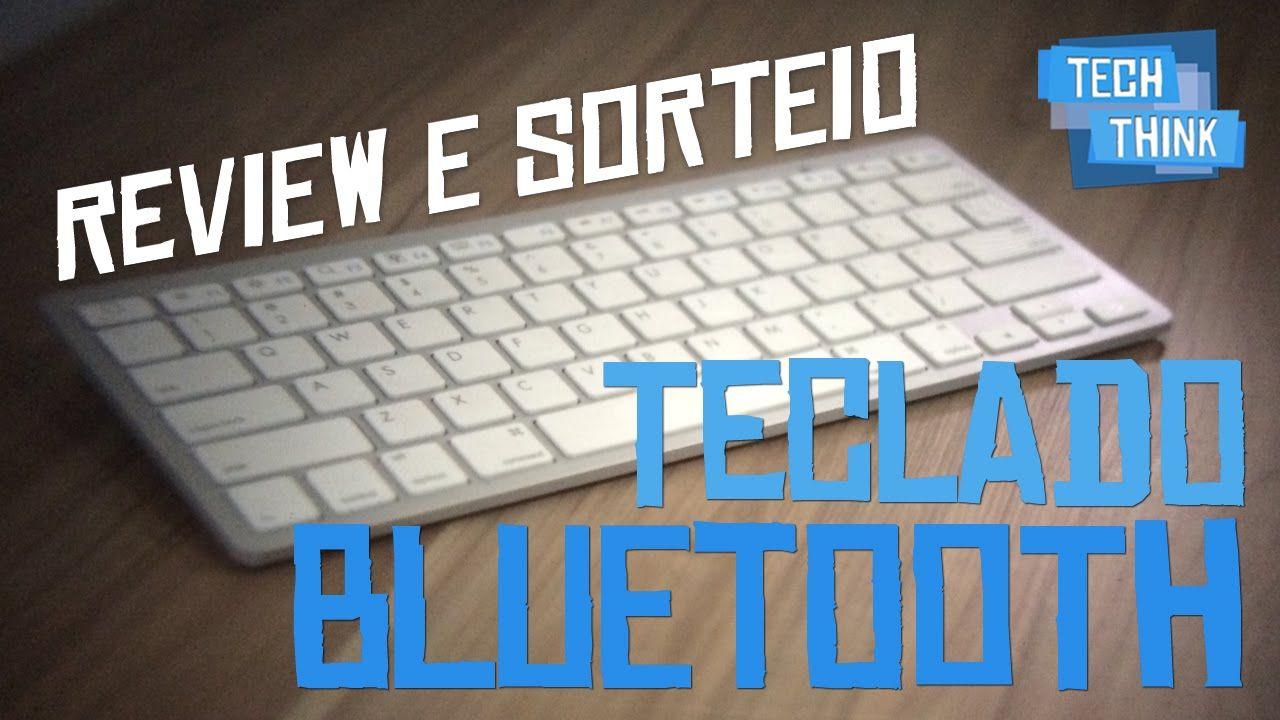 review e SORTEIO - Teclado Bluetooth para Celulares, Tablets e PCs - DX.com