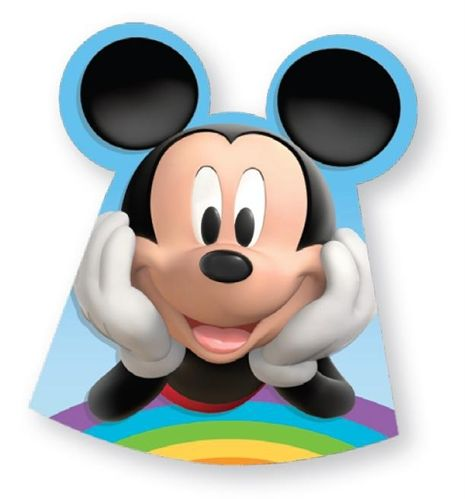 Disney Mikki Hiiri, Paperihattu, 6-pakkaus