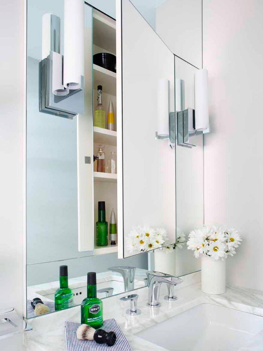 Add Recessed Medicine Cabinets In Your Bathroom | Pinterest ...