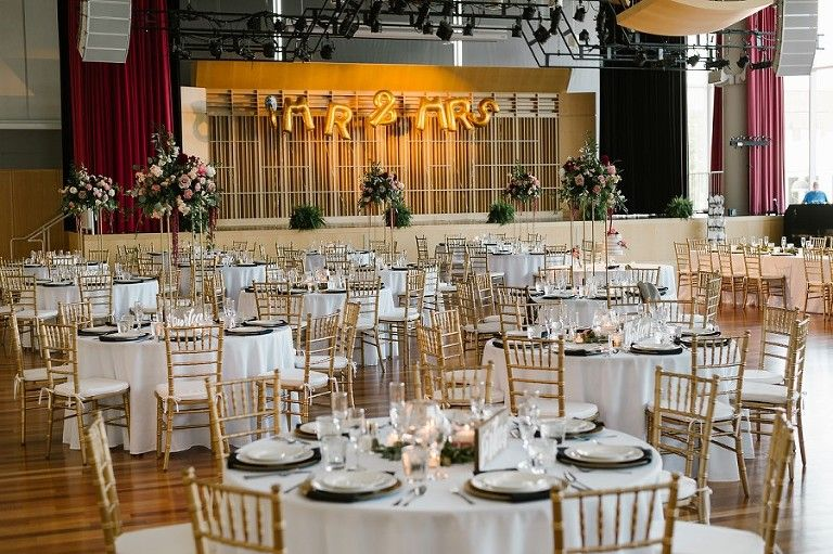 Inn at Irwin Gardens and Columbus Commons Wedding