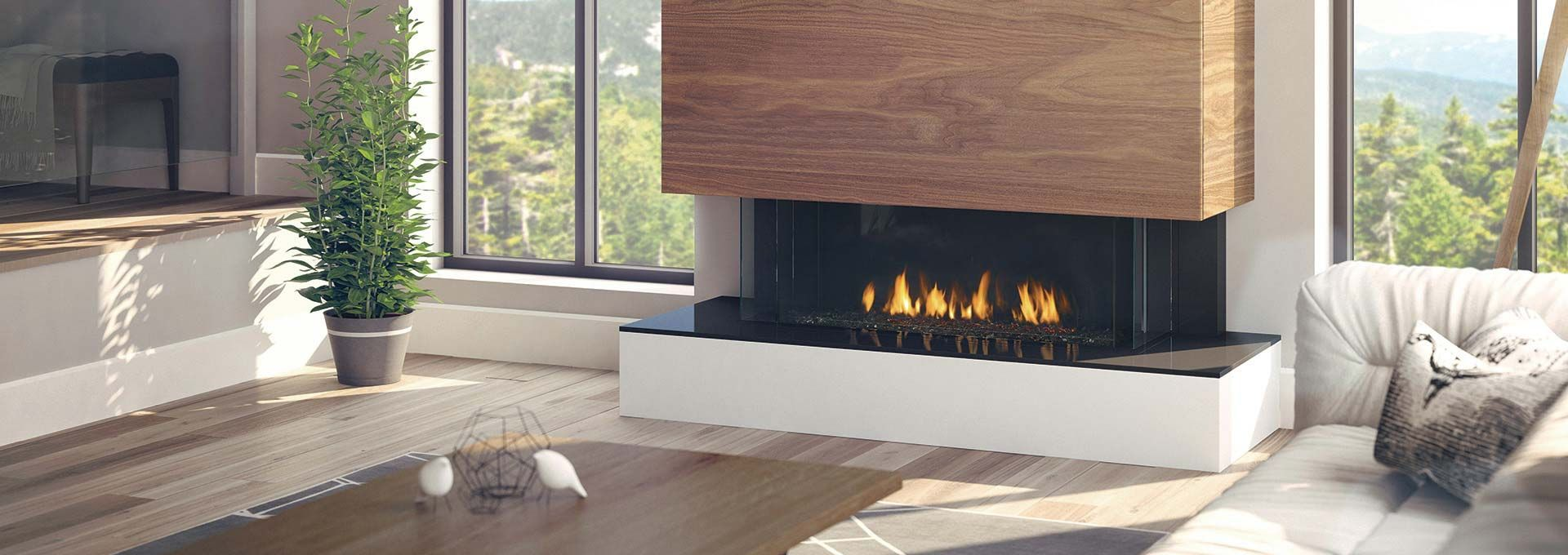 Use Any Finishing Material Right To The Edge Of The Fireplace