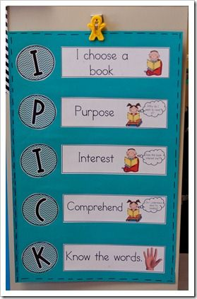 IPick printables for Daily 5