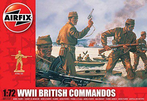Airfix-A01732-WWII-British-Commandos-172-Scale-Series-1-Plastic-Figures-0