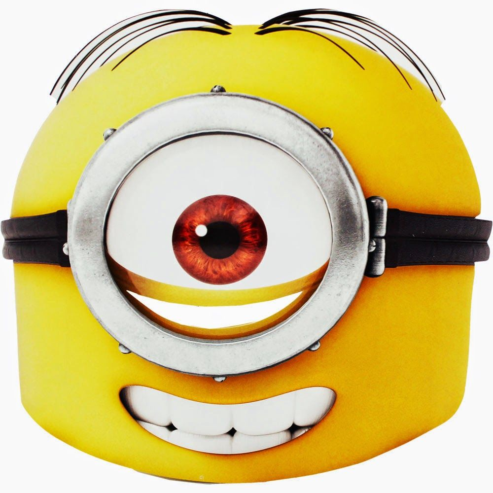 Oh My Fiesta In English Minions Free Printable Mask Printable Masks Minion Mask Minions