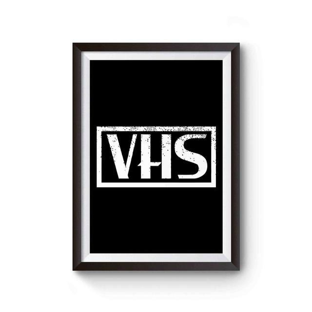 Vhs Logo Poster Poster Tube Poster On Vhs