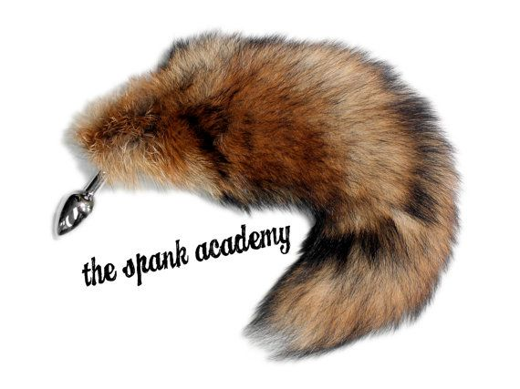 tail butt plug 15 real red fox tail plugthespankacademy