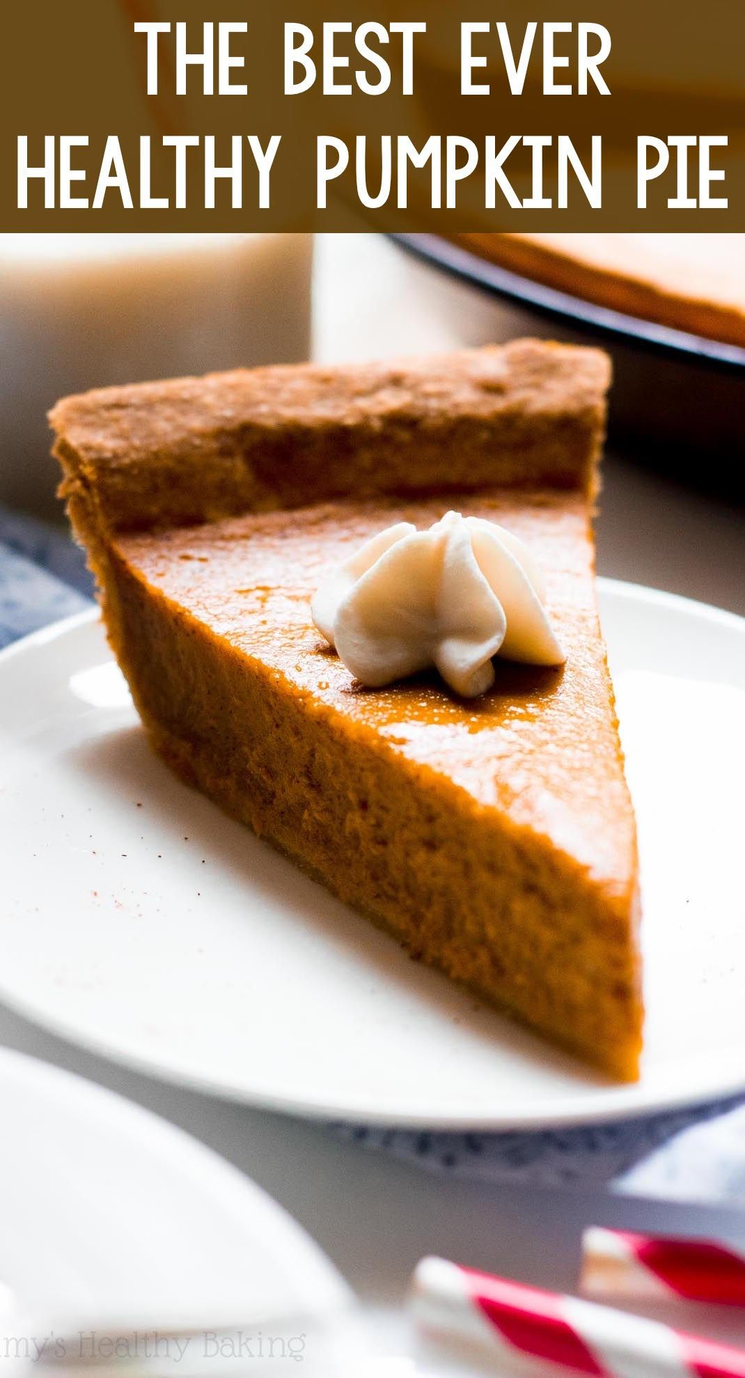 The Ultimate Healthy Pumpkin Pie This Skinny Pie Doesn T Taste Healthy At All You Ll Ne Low Carb Pumpkin Pie Healthy Pumpkin Pie Recipe Healthy Pumpkin Pies