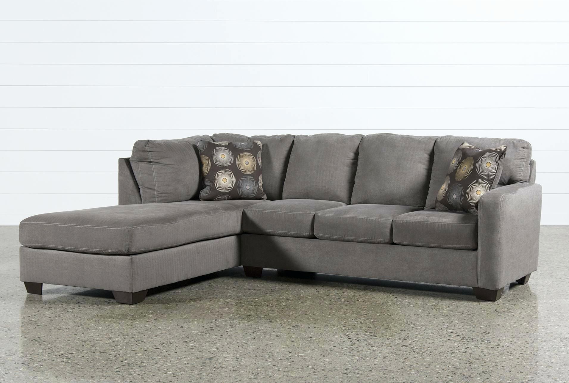 Lovely Cindy Crawford Bailey Microfiber Chaise Sofa