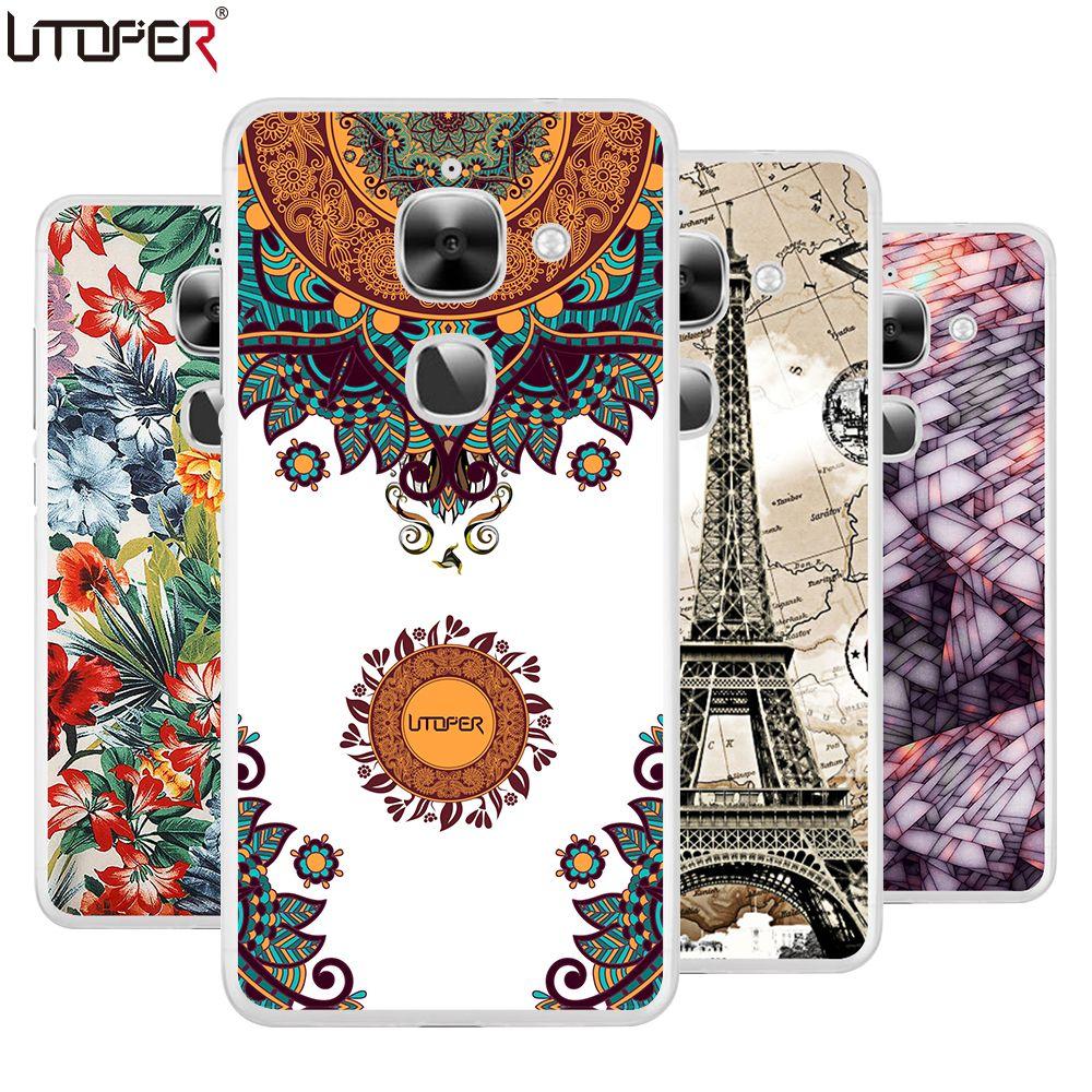 "For LeEco Le 2 case silicon soft TPU cover lion cartoon flower case For Letv LeEco Le 2 X620 5.5""DIY Phone case fundas coque  #Affiliate"