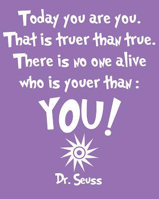 I love me some Dr Seuss!!