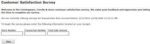 World Kitchen Customer Satisfaction Survey Survey