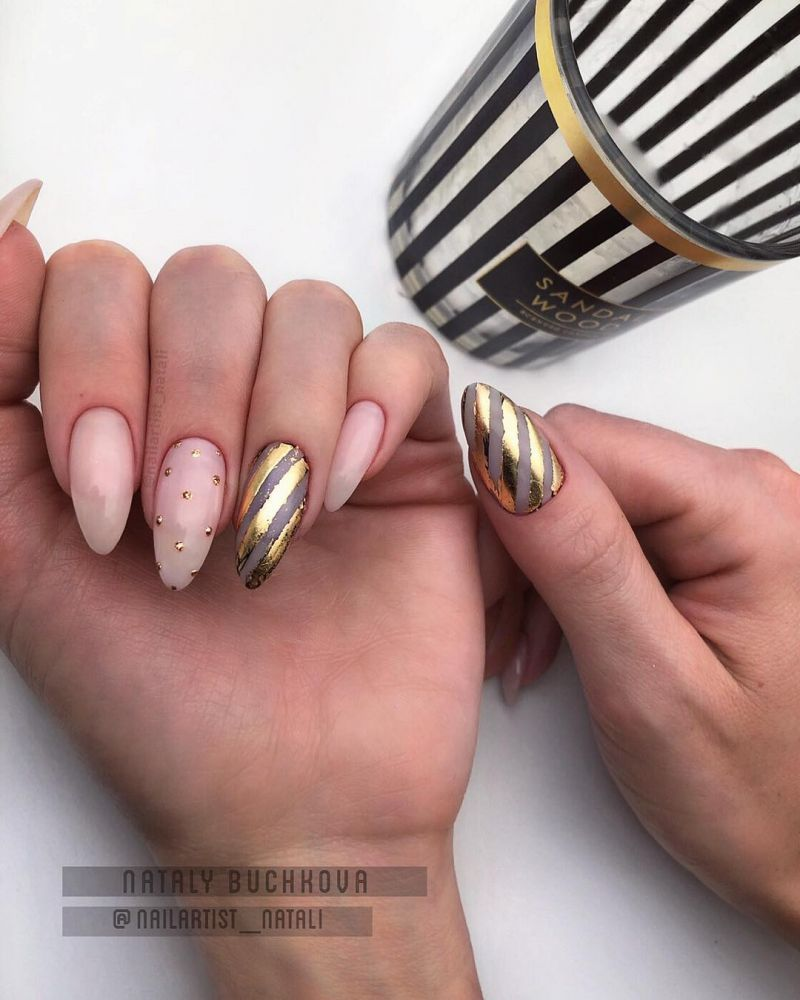55 Gorgeous Almond Nail Art Designs Just For You 2020 In 2020