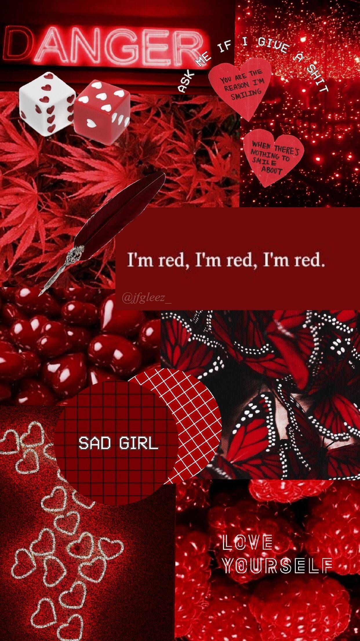 Best Of Red And Black Decorations Black Aesthetic Wallpaper Red And Black Wallpaper Red Wallpaper