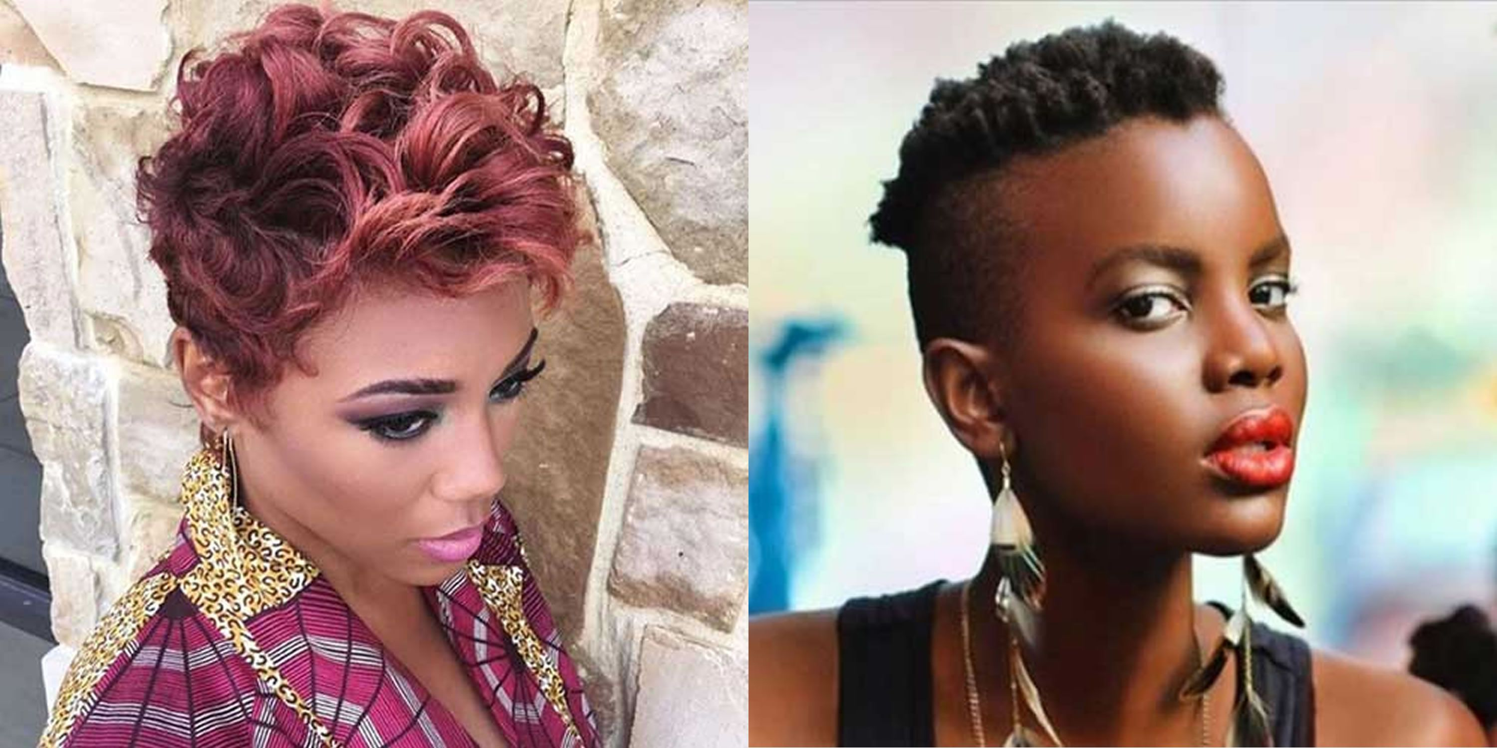 Pixie Haircuts For Black Women In 2020 2021 In 2020 Short Hair Images Pixie Haircut Short Pixie Haircuts