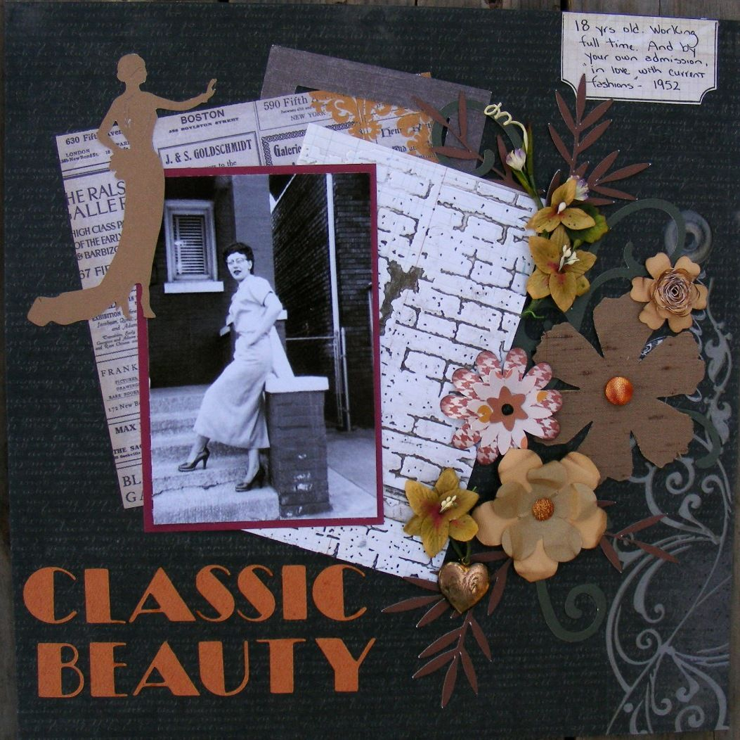 Classic Beauty - Scrapbook.com