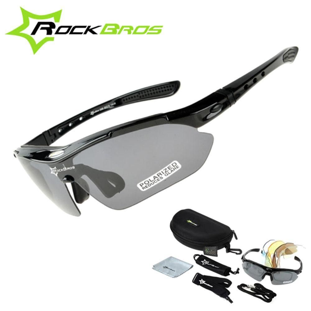 d8fb143c19 RockBros Polarized Cycling Sun Glasses Outdoor Sports Bicycle clismo Road  Bike MTB Sunglasses TR90