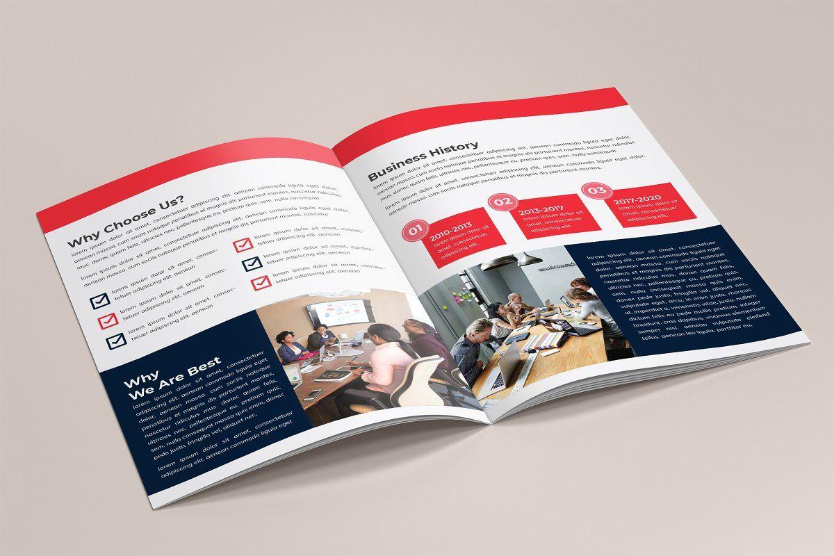 Company Brochure Template | Company brochure, Brochure template, Brochure