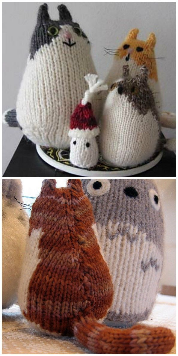 Knitted Cats Patterns You Will Love To Whip Up - Lots Of ...