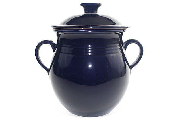Cookable Stew Pot, Cobalt Blue on OneKingsLane.com