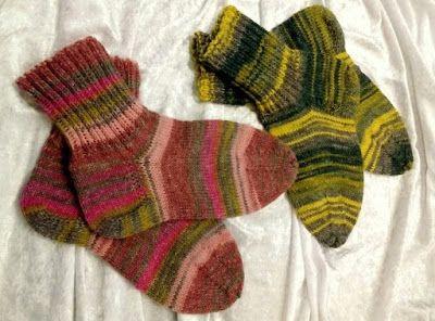 Wollschäfchen: handgestrickte Socken
