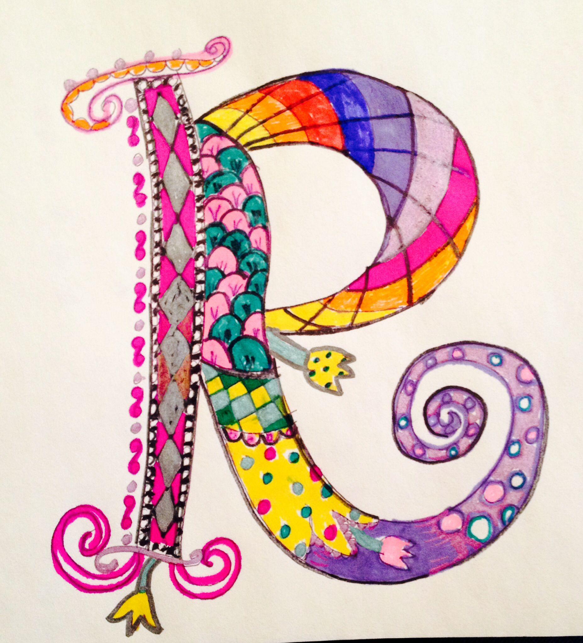 creative alphabet letters - HD1854×2046