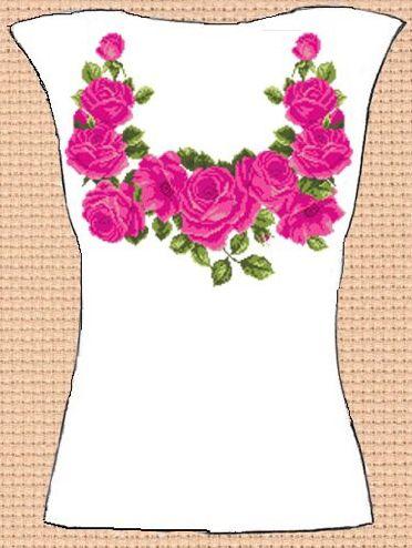 Заготовка для вишивки жіночої сорочки без рукавів (СЖБР-089) Чари-3 ... 9f680e6605c82