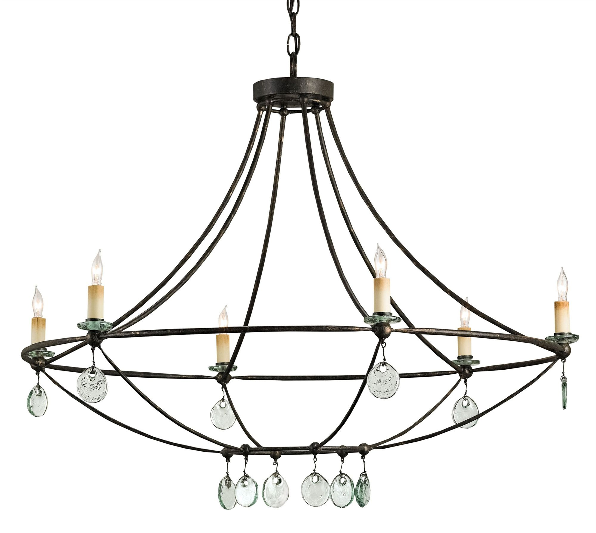 Novella Chandelier Currey And Company Vintage Ceiling Lights