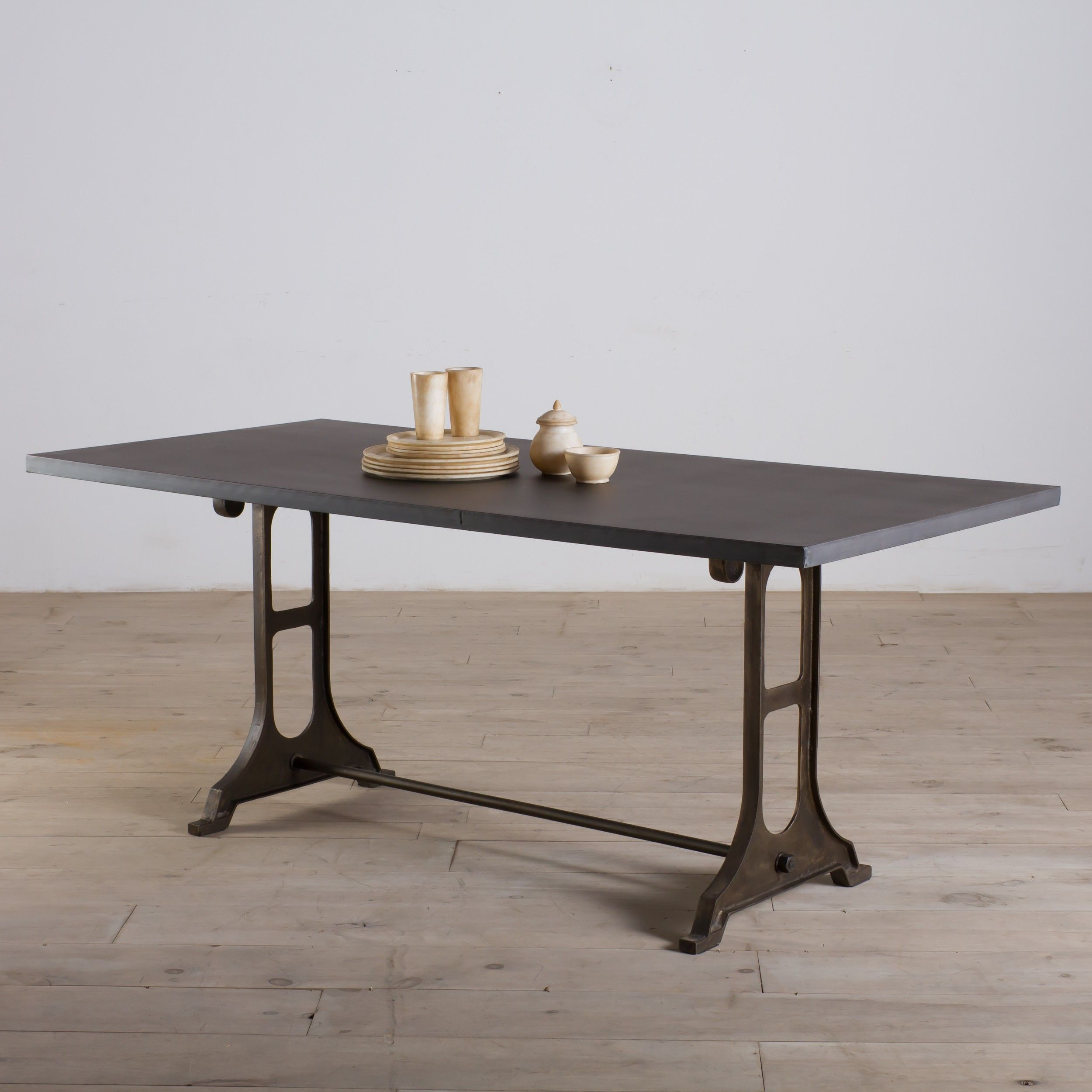 Zinc Finish Furniture Gwalior Dining Table Zinc Finish From Cg Sparks Things I Want