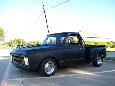 Hot Rod Chevy Trucks 1968 Chevy Truck Stepside Short Bed 454 Big