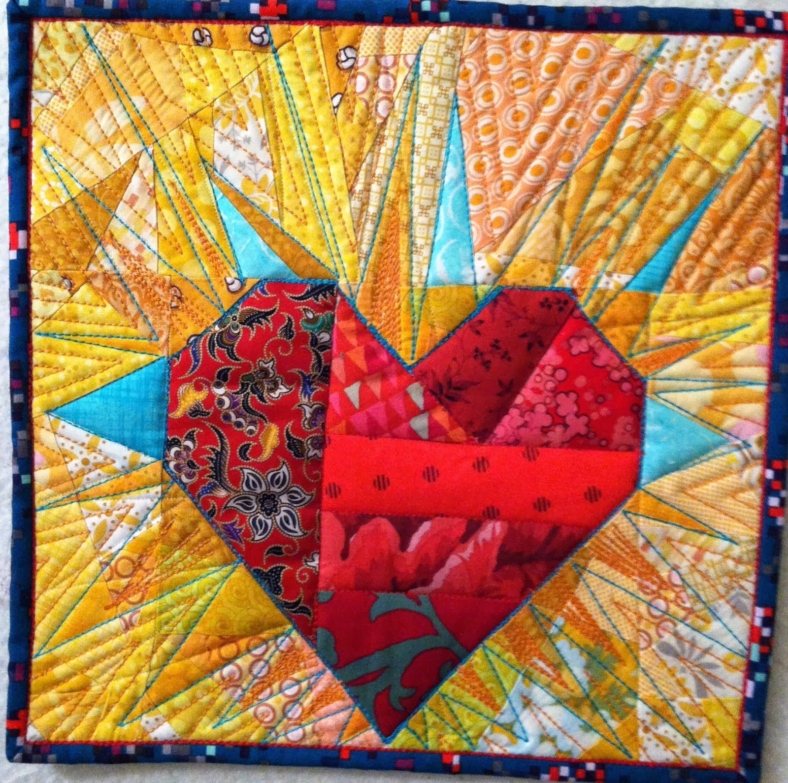 NYC Metro MOD Quilters: Love Swaps . . .Victoria Findlay Wolfe ... : quilts nyc - Adamdwight.com
