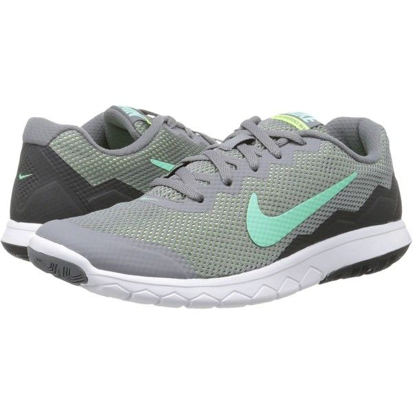Womens Nike Flex Experience 4 Cool Grey/Anthracite/Ghost Green/Green Glow Running Shoe
