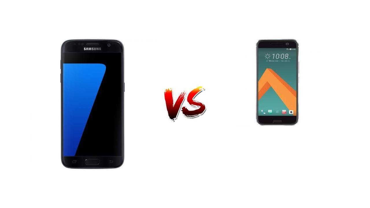 COMPARE SAMSUNG GALAXY S7 vs. HTC 10