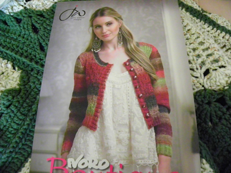 Knitting Pattern Book - Noro Boutique Jenny Watson Designs - 20 ...