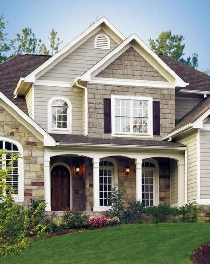 Trendy Exterior Shutters On Brick Cedar Shakes 44 Ideas Colonial House Exteriors Exterior House Colors Colonial House