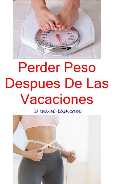 Bajar de peso despues de vacaciones
