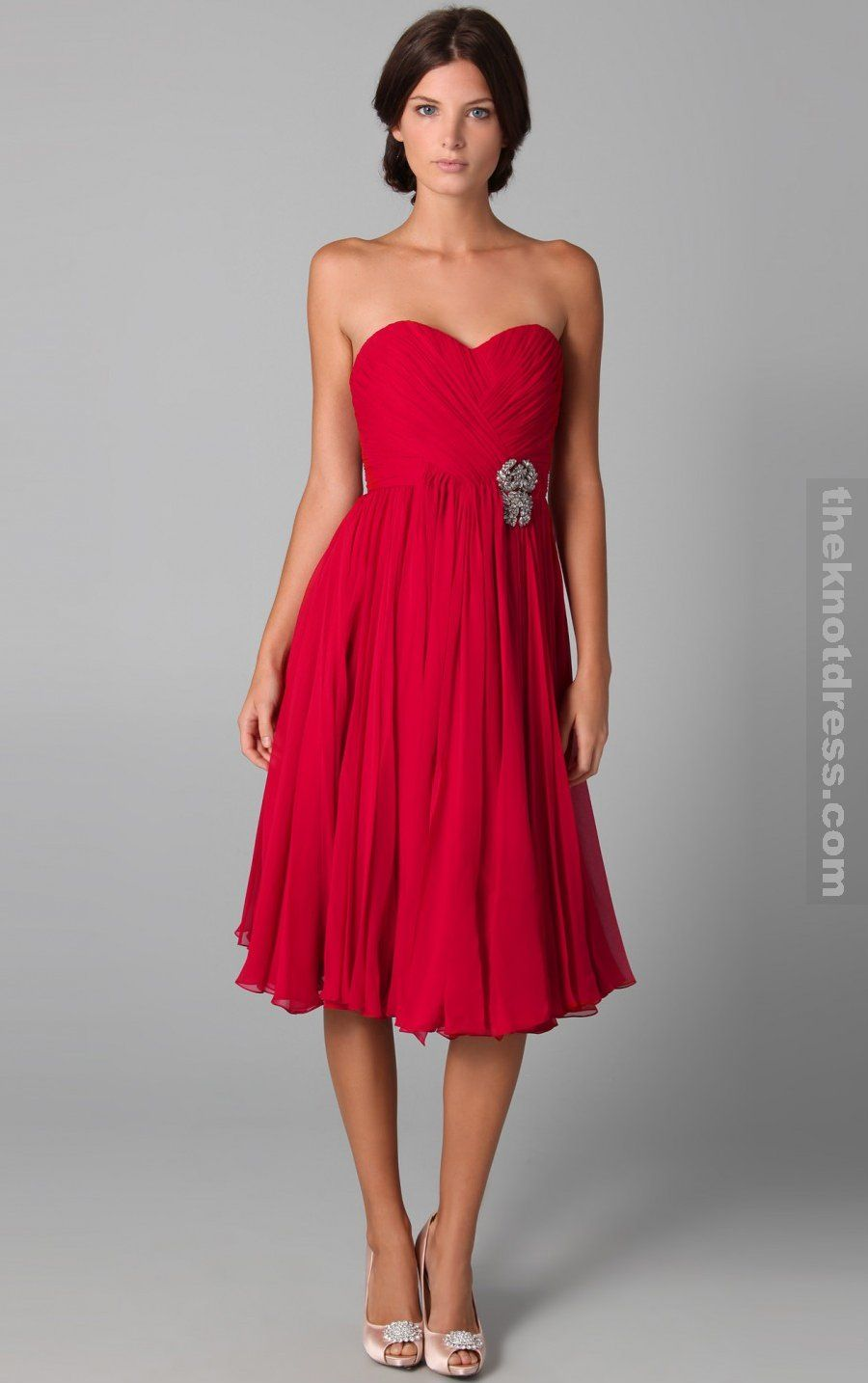 Red Bridesmaid Dresses Summer