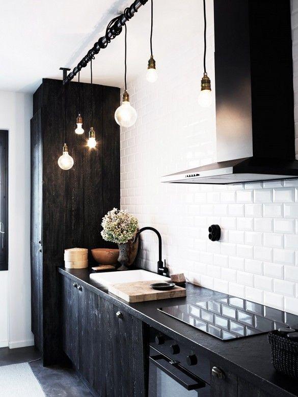 8 Amazing Galley Kitchens Home Azulejos De Metro Cocinas