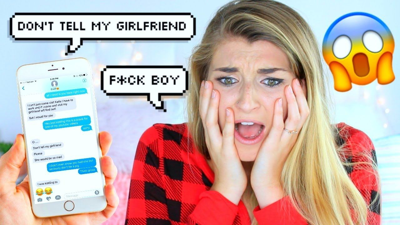 Texting Lyric Prank On Crush All I Want Is You By Justin Bieber