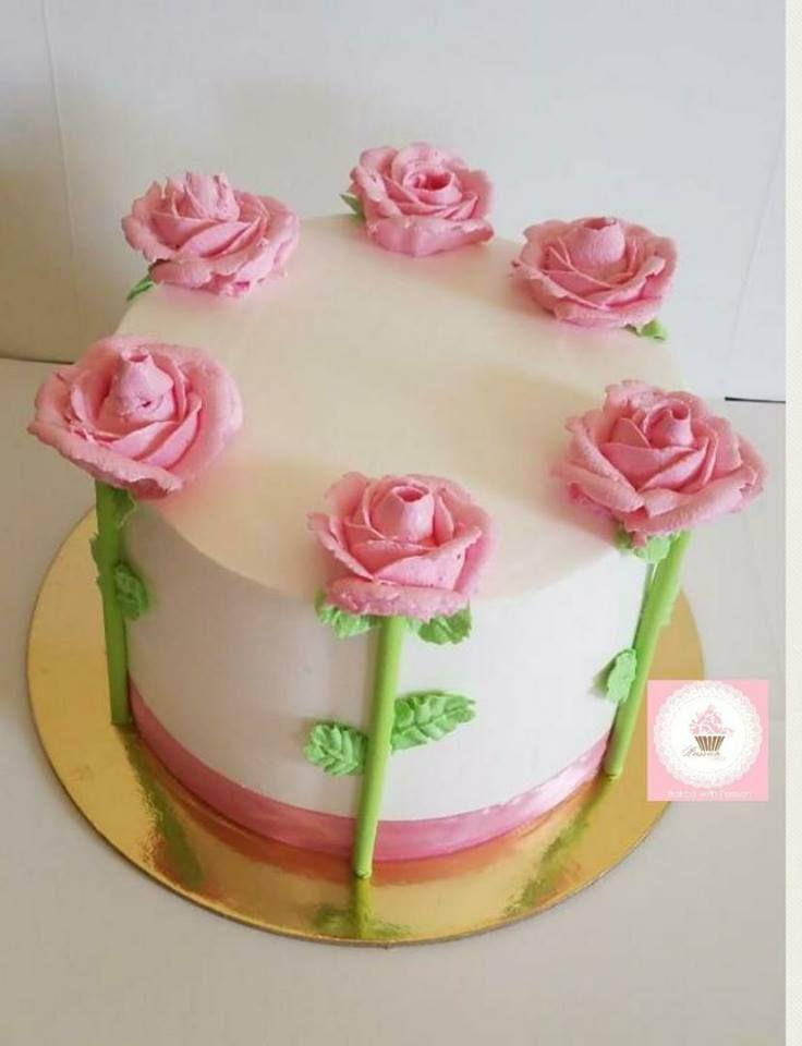 Pin De Exlenkha En Yo Pastel Con Flores Pastel De Flores